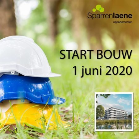 Start bouw Sparrenlaene Appartementen